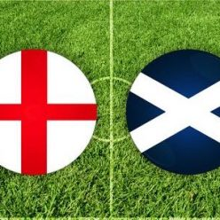 Sepak bola Inggris vs Skotlandia