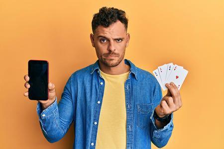 Gambling man cards
